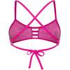 TYR Drift Pacific Tieback Bikini Top Blue/Pink